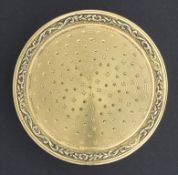 Tabatiere / A gold tobacco tin, Julien Josset, Paris, 1787