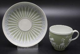 Frühe Tasse mit Untertasse / An early jasperware cup and saucer, Josiah Wedgwood, 1790