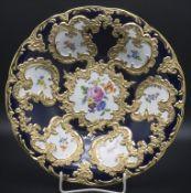 Prunkschale mit Blumenmalerei / A splendid bowl with flowers, Meissen, nach 1934