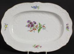 Servierplatte 'Marseille' / A serving plate 'Marseille', Meissen, 20. Jh.