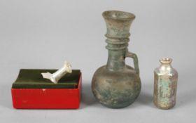 Drei antike Gläser