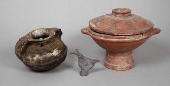 Drei Teile aus dem Museum für Morgenlandfahrer