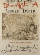 """Salvador Dali, Plakat """"Hommage an Albrecht Dürer"""""""