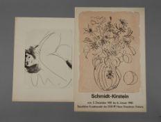 Helmut Schmidt-Kirstein, Paar Graphiken