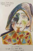 Pablo Picasso, Plakat der Galerie Louise Leizig