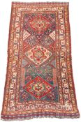 Qashqai Persian carpet. Iran. Antique, around 120-160 years old.