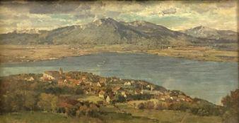 Max HARTWIG (1873 - 1939). Tegernsee.