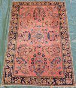Saruk Farahan. Persian carpet. Iran, about 100 - 120 years old.