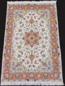 Tabriz Persian Rug, Iran. Fine weave.