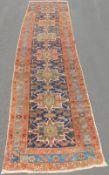Karadja runner. Persian rug. Iran. Dated 1345 (1926).