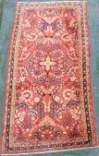 Mohajaran Saruk Persian carpet. Iran, about 80 - 110 years old.