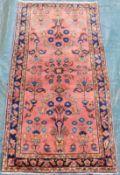 "Saruk Persian carpet. ""American Saruk"". Iran. Circa 100 - 130 years old."