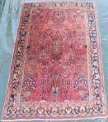 "Saruk ""American Saruk"". Persian carpet. Iran, about 80 -110 years old."