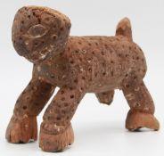 Animal figure. Leopard? Probably West Africa. 20 cm long.