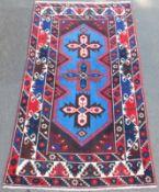 Dazkiri village carpet. Taurus Mountains. Anatolia. Turkey. Around 60 - 80 years old.