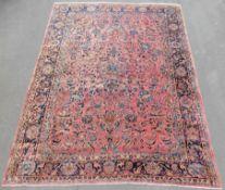 "Saruk Persian carpet. ""American Saruk"". Iran. About 100 years old."