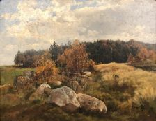 Carl Coven SCHIRM (1852 - 1928). Megaliths, megalithic grave?
