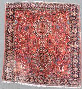 "Saruk Persian carpet. Iran. ""American Saruk"". Around 90-110 years old."
