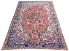 Heriz Persian carpet. Iran. Around 90 years old.