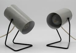 2 table lamps. Mod & Ossi?