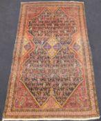 Arak Persian rug. Iran. Sultanabad Province. Antique, around 1890.