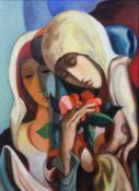 "Antonio Diego VOCI (1920 - 1985). ""Femmes aux Fleurs"""