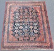 Khamseh Persian carpet. Iran. Antique, around 100 - 150 years old.