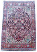 Djosan Persian carpet. Iran, about 90 - 110 years old.