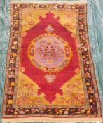 Kirschehir village rug. Turkey. Anatolia. Around 80 - 120 years old.