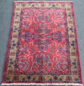 Keschan Persian carpet. Iran. Around 90-100 years old.