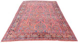 "Saruk Persian carpet. ""American Saruk"". Iran. Around 100 years old."