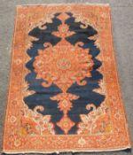Malayer Persian carpet. Iran. Antique, around 120-150 years old.