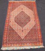 Senne Haft Rang. Persian carpet. Iran. Antique, about 100 - 150 years old.