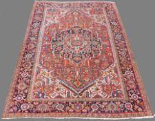 Heriz Persian carpet. Iran. Around 80 - 120 years old.