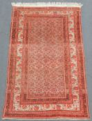 Malayer Persian carpet. Iran. Antique, around 100 - 150 years old.