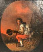 UNSIGNED (XVIII - XIX) Tramp. Beggar.