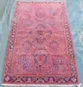 "Saruk Persian carpet. ""American Saruk"". Iran. Circa 100 - 120 years old."