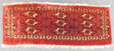 Turkoman Torba / Jollar. Turkmenistan. Antique, around 130-180 years old.