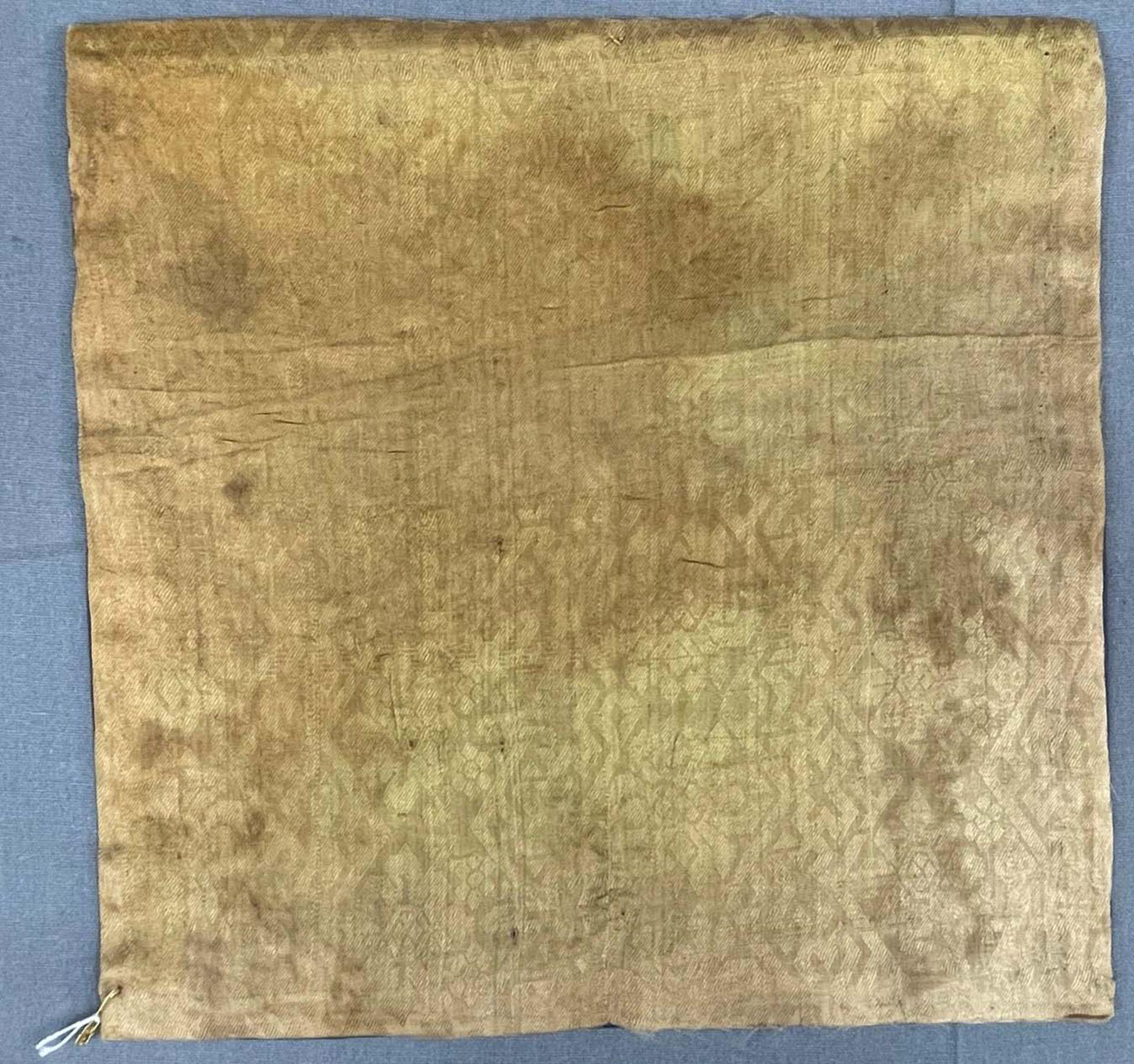 Rangabzeichen. Für die Rückseite einer Robe. Wohl Kranich. - Image 8 of 8