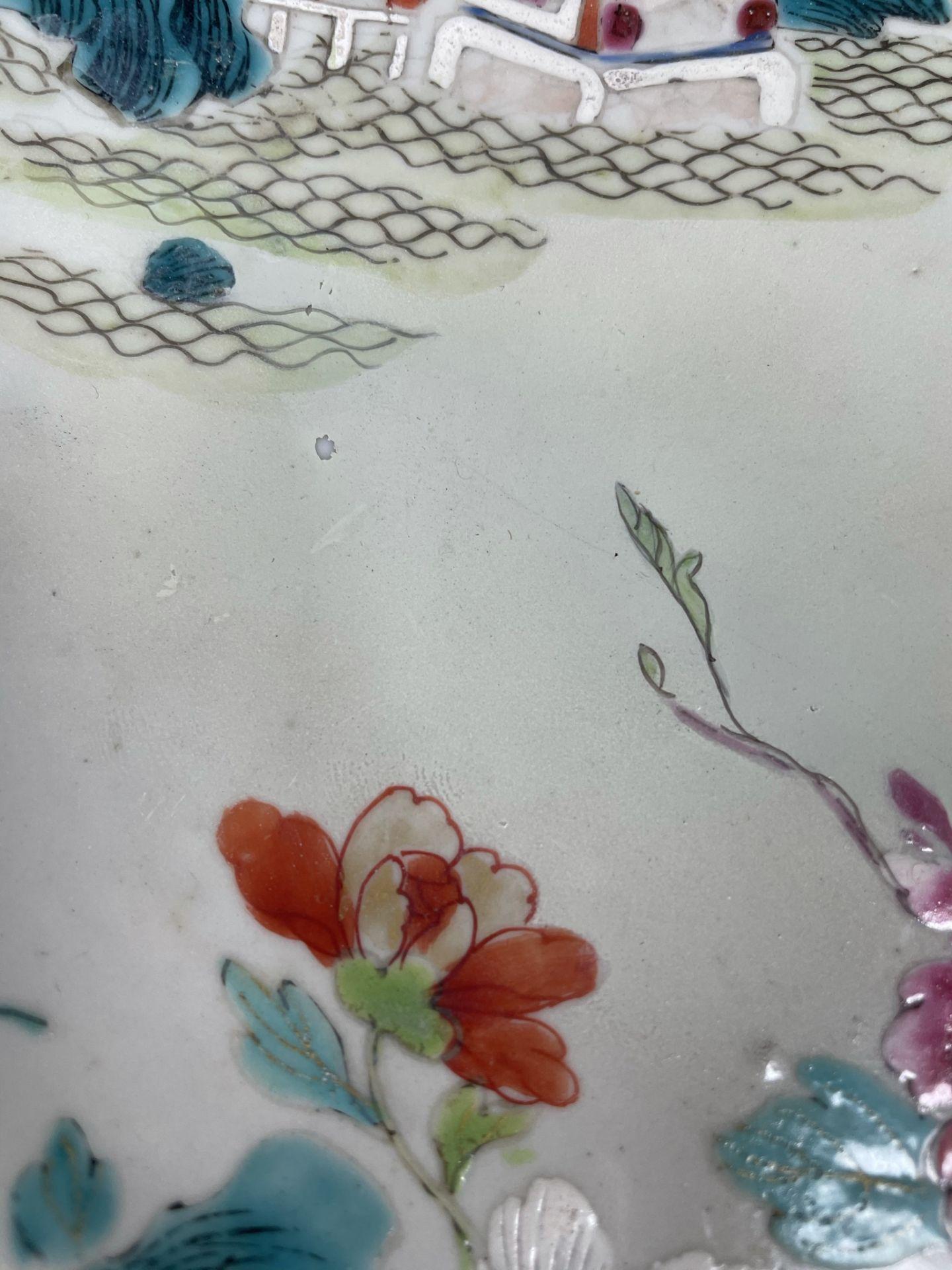 2 Platten. Porzellan. Wohl China antik. - Image 14 of 16