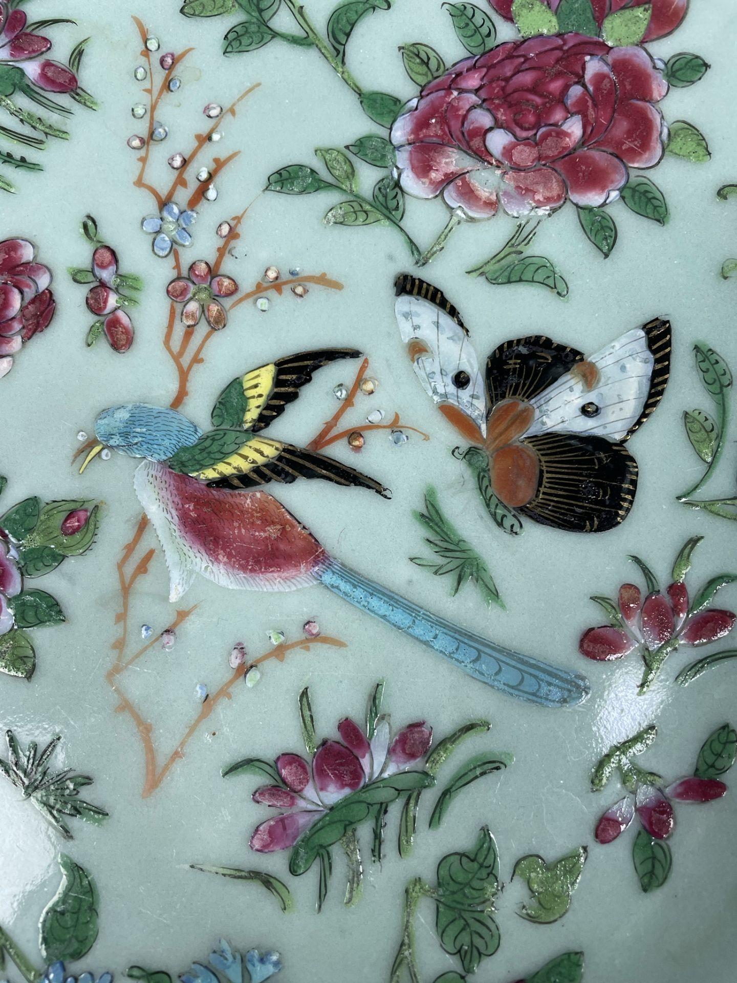 2 Platten. Porzellan. Wohl China antik. - Image 11 of 16