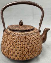 Teekanne. Gusseisen. China antik? Japan?