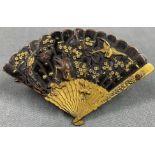 Koppel, Spange, Kartenhalter? Wohl Japan antik.