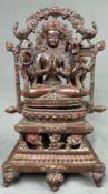 Buddha. Wohl Tibet, China antik, alt.