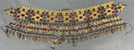 Turkmenen Schmuck. Gürtel. Wohl Zentralasien antik.