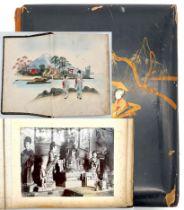 Fotoalbum China, Tsing Tao und Umgebung. Wohl um 1910.