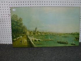 A miscellaneous selection of various framed and unframed items comprising prints, watercolours,