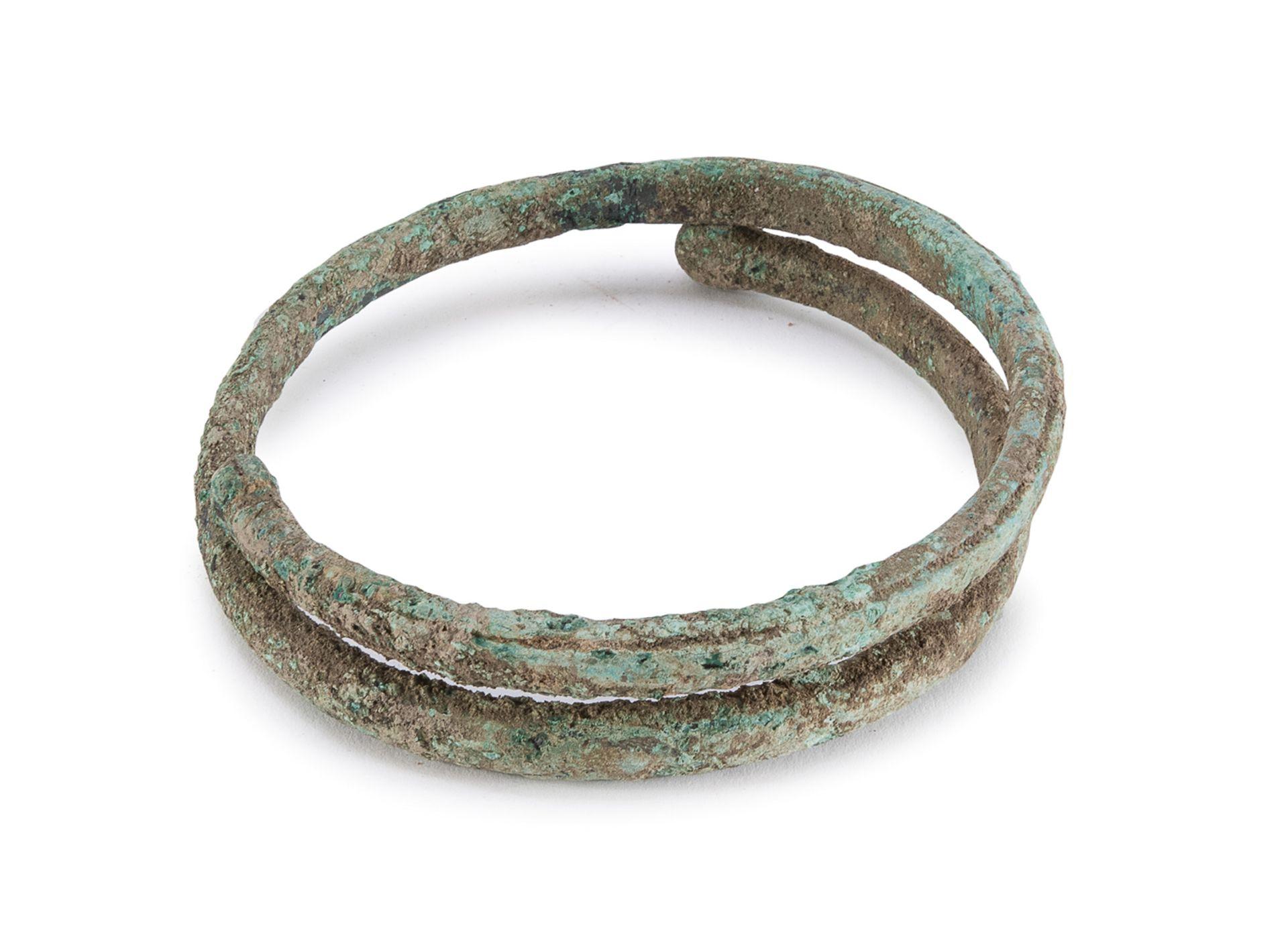 BRONZE ARMILLA 6th-2nd CENTURY BC