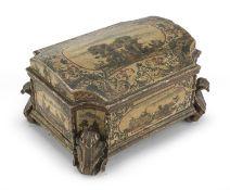 WOOD BOX POOR ART VENICE 18TH CENTURY