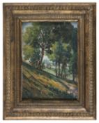 OIL PAINTING OF A LANDSCAPE SIGNED 'MARMO' 20TH CENTURY